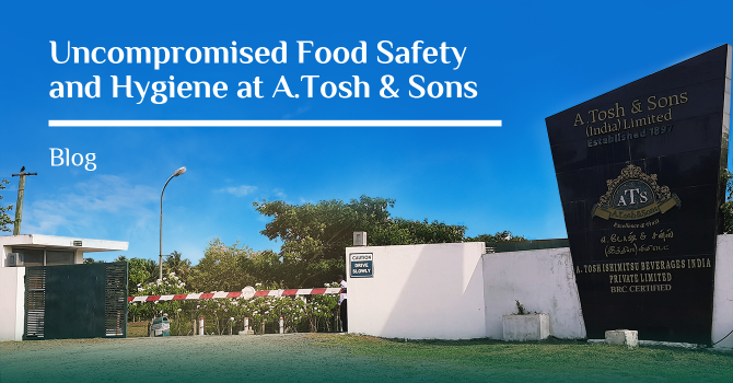 Uncompromised Food Safety and Hygiene at A.Tosh & Sons